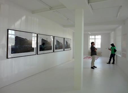 "Installation view of Hatakeyama Naoya's ""Zeche Westfalen I/II"", Photo by Takeda Natane 